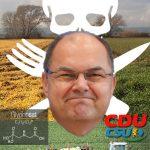 Monsanto-Freund und RoundUp-Fan Christian Schmidt durfte wieder nicht
