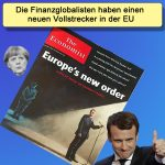 Merkeldämmerung in der EU | Macron neue Führungsmarionette