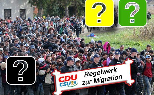 CDU/CSU Regelwerk zur Migration: Zur Erinnerung bei den Jamaika-Verhandlungen