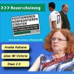 Anetta Kahane rassistisch: Der Osten ist zu weiß