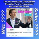 Titanic: Linke deutsche Schmutzfinken attackieren Sebastian Kurz