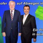 Horst Seehofer auf Abwegen in Berlin