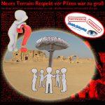 LK Nea-Bw Trautskirchen: Propaganda um jeden Preis: Flüchtlinge suchen Wüsten-Pilze