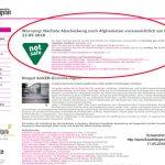 Bayerischer Rundfunk > Abschiebungen: Immer schön dagegen stänkern