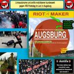 Schwarzer Block und Antifa: Reiseführer für Krawalltouristen zum AfD-Bundesparteitag in Augsburg