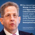 Deutschland : Verfassungsschutz sieht in Linksextremismus Gefahr für die Gesellschaft