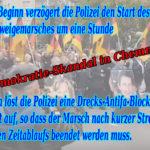 Chemnitz > Schweigemarsch für Mordopfer: Demokratie-Skandal durch staatliche Behinderung des Demonstrationsrechts
