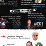 Chemnitz > Toten-Tanz: Bundespräsident Steinmeier und Polizei-Gewerkschaftler begeistern sich für linksextreme Systembekämpfungs-Bands