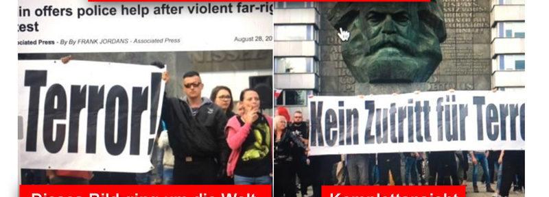 Noch ein Presse-Fake zu Chemnitz