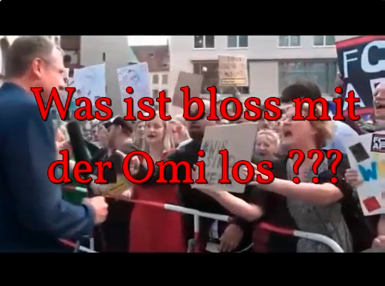 >> Bunte Schreihälse: Was ist bloss mit der Omi los  😂😂😂 #münchen  #bunt  #störer  #ideologen  #grüne  #linkspartei  #spd #omi #afd 📹 http://bit.ly/2OpoAZh