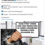 Polizei Unterfranken macht einen auf Stasi