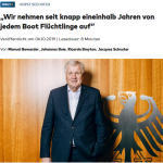 Der Seehofer ist halt ein richtig Merkel-Held