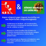 SPD und Grüne klagen in Bayern gegen Integrationsgesetz