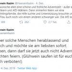 """Ist Hasnain Kazim eine Wortableitung von """"Bescheuert""""?"""