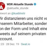 WDR hält an Nazisau-Verfasser Hollek fest