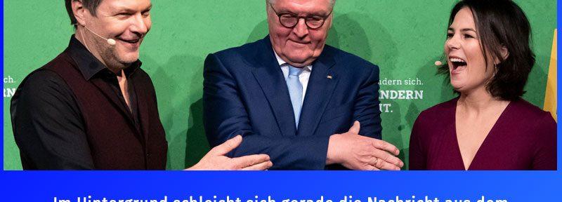 Steinmeier, Habeck, Baerbock - dumm, dümmer, am dümmsten