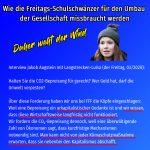 Die Klimasozialistin Luisa Neubauer und ihre Spinnereien