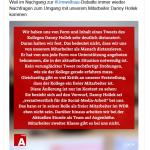 WDR erklärt frechdreist besondere Unterstützung für den Sprachgangster Hollek