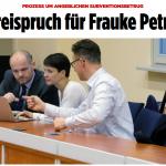 Frauke Petry, Ex-AfD-Chefin, vom Subventionsbetrug freigesprochen