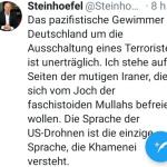 Trump vollstreckt - Deutschland jammert um Top-Terroristen
