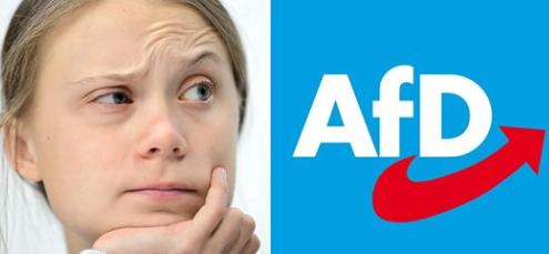 Jammerlappen-Journalist der WELT beklagt Gotteslästerung an Greta Thunberg durch die AfD