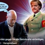 Die Staatsratsvorsitzende Merkel wird sich an der Bürgerlichkeit die Zähne ausbeissen