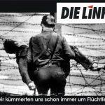 Der antifaschistische Schutzwall der Linkspartei - damals und heute