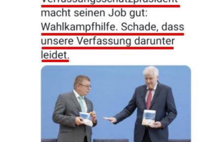 Das Märchenbuch des Jahres - Verfassungsschutzbericht 2019