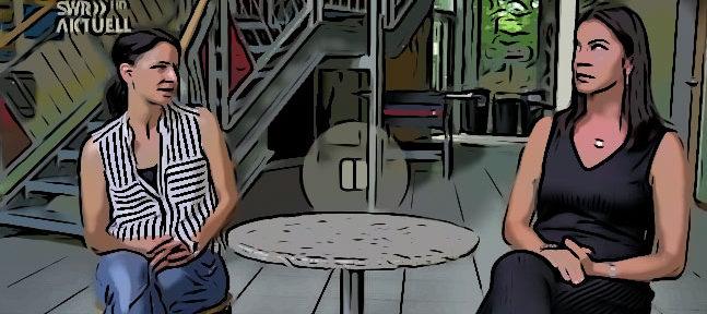 Stuttgart - Sozialarbeiterinnen versuchen Randale durch ihre widerwärtige Klienten zu relativieren - Lustig