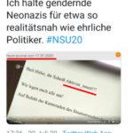 Merkwürdiges rechtradikales Gendern - dem ZDF gefällt es