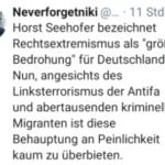 Der peinliche Herr #csu #Gummi-#Seehofer und sein Geschwätz nach Merkels Gusto