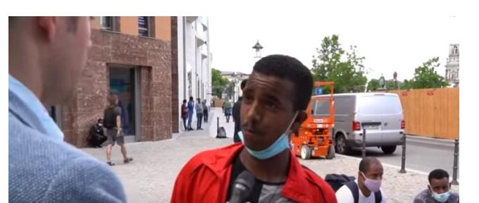 Flüchtlinge und ihre deutschen Anstifter fordern - Buntland hat zu liefern. Pronto