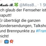 """""""Überraschend"""" schwaches Angebot der GEZ-Zwangsgebühren-Sender ARD und ZDF zur Randale-Party in Frankfurt/Opernplatz"""