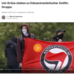 Auch in Köln wird die antifa-Zeckenbande von der Uni finanziert
