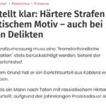 Bundesgerichtshof macht uns zu Bittstellern im eigenen Land - nur Deutsche werden härter bestraft