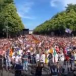 Freiheitsdemo in Berlin am 1.8.2020 - grünlinke Presse und Staatssender im Ausnahmezustand