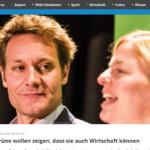Grüne in Bayern proben Volkspartei und machen die Rechnung ohne den Wirt