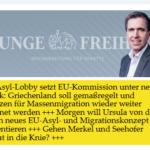 Linke Asyl-Lobby bedrängt EU zu weiterer Masseneinwanderung - der Turbo für Merkel und v.d.Leyen?