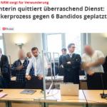 Richterin lässt Prozess platzen - vorbildlicher aufopferungsvoller Einsatz einer Vollalimentierten