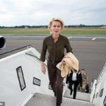 Eco warrior Ursula von der Leyen used private jets on half her trips