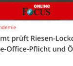 SOS – Kanzleramt prüft Riesen-Lockdown