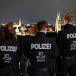 Silvesternacht in Nürnberg: Altstadt glich einer Festung