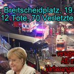 Merkel-Speichellecker de Mazière und Deutschlands Sicherheit